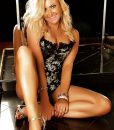 Stunning sydney stripper Jessey wearing black lingerie