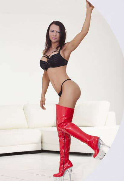 strippers-brisbane-sparkels-sexy-red-boots